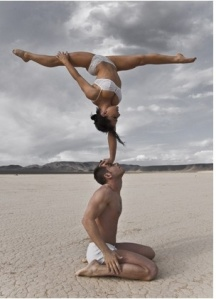 Pinterest AcroYoga blog feature